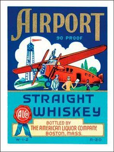 "Airport Whiskey Metal Sign: Beer, Ale, and Alcohol Decor Wall Accent by OMSC. $15.49. Rounded corners with holes for easy hanging. Eco-friendly process, hand-made in the USA. Glossy, full-color, enamalized imaged baked onto thick, 24-gauge steel. Ships in Ploy-bag for complete protection. This sign measures 9"" x 12"" (225 mm x 300 mm). The ""Airport Whiskey Metal Sign"" is hand-made in America. These sturdy metal signs will perfectly accent any kitchen, home, bar, pub, game r..."