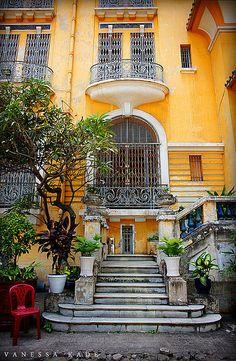 Ho Chi Minh City, Vietnam - Fine Arts Museum Exterior