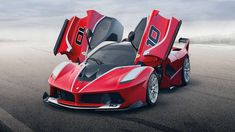 Just as the Enzo Ferrari spawned the track-only FXX, so the LaFerrari evolved into the FXXK. That's K for KERS: launched in 2014, it has a hypercar-level 1,035hp.
