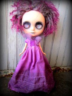 A Shepuppy Custom Blythe @ etsy  Very strange, indeed. Happy Halloween