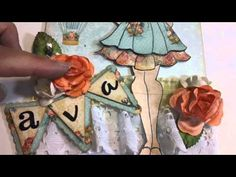 Playing with Prima Doll Stamps - YouTube