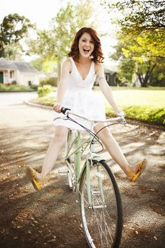 Girls on bicycles on Pinterest | Bicycle ...
