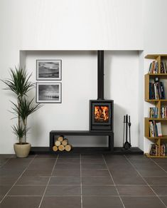 Riva F40 Freestanding Wood Burning Stoves & Multi-fuel Stoves