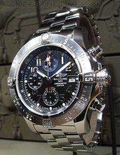 Breitling Super Avenger | Raddest Men's Fashion Looks On The Internet: http://www.raddestlooks.org
