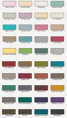 rust oleum chalk chalky colour chart remake furniture in on valspar paint color chart id=54246