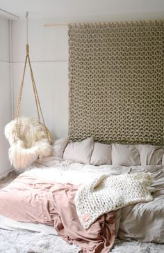 Wallhanging At Vacht Van Vilt Cozy bedroom...