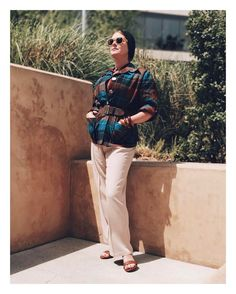 "Jessica Parker (@noaccountingfortaste) auf Instagram: ""I hope you're enjoying your ☀️day /// #1940s blouse and slacks by Graff of California; Pendleton…"""
