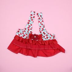 Flower Dog Dress - S