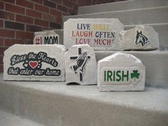 From Mom and Dad, to golf and Grandpa, we have a rock to fit your every need