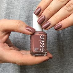 Clothing optional by Essie Pretty Nail Colors, Spring Nail Colors, Spring Nails, Pretty Nails, Winter Nails, How To Do Nails, Fun Nails, Smart Nails, Nail Paint Shades