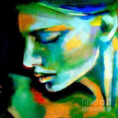 Awakening Painting by Helena Wierzbicki - Awakening Fine Art Prints and Posters for Sale