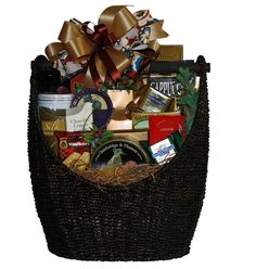Naturally Gourmet Food Gift Basket by BasketSolutions on Etsy