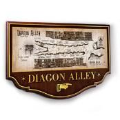 Diagon Alley Wall Plaque by Noble Collection