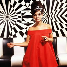 Mod Fashion... Red dress