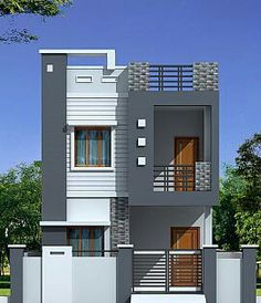 Indian House Design Double Floor Buildings Designs4 Home In 2018