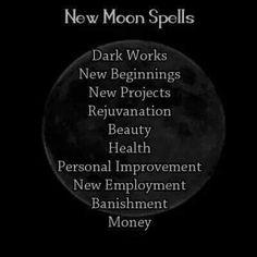 How to Host a New Moon Ritual Moon Spells, Magick Spells, Witchcraft, Wiccan Witch, Dark Spells, Hoodoo Spells, Lunar Magic, Moon Magic, Dark Words