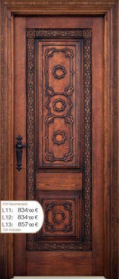 M s de 1000 ideas sobre puertas principales de madera en for Puertas principales rusticas madera
