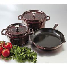 staub cookware set 5 pieces