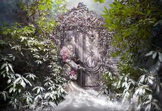 'The Fade Of Fallen Memories'  (2014)  Wonderland Series, Kirsty Mitchell Photography