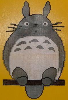 Perler (Hama) Bead Totoro!