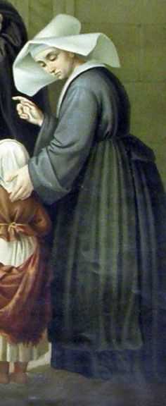 St. Louise De Marillac. She is the saint I used for Confirmation.