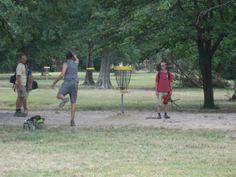 Disk Golf Course at Agnes Moffitt Park