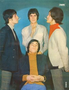 "1965 - The Kinks release singles ""Tired of waiting for you."" and ""All Day and All of The Night."" Both hit Billboard Top 10 in the U.S."