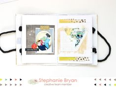 stephanie makes: glitz design: gift bag mini book tutorial