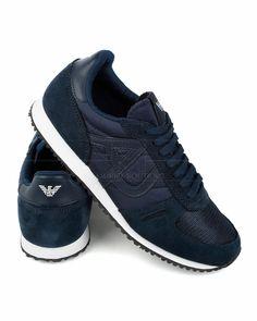 Zapatillas Armani Jeans - Azul Marino | Envío Gratis