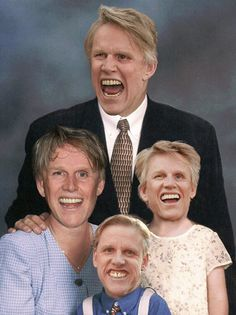 Gary Busey and family \