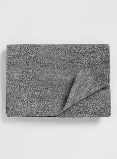 SELECTED HOMME GREY KNIT SCARF