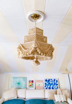 Crochet lantern       The New Bohemians, photo by Dabito