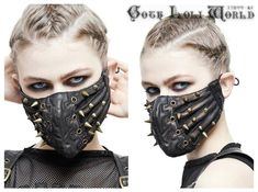 Activated Charcoal Face Mask, Leather