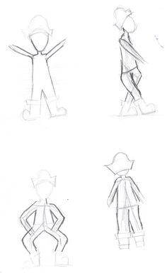 Boceto - posiciones