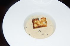 Monkfish and pike bisque,Grand Cru Indriya from India Sauce - Emmanuel Renaut