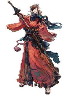 Samurai from Final Fantasy XIV: Stormblood