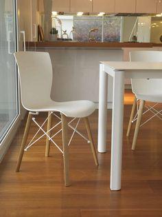 Contemporary chair RAP WOOD by F. Di Martino Colico