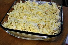 Mommy's Kitchen - Home Cooking and Family Friendly Recipes.: Cheesy Chicken Alfredo Casserole