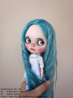 OOAK Custom Blythe Doll By Stable House by StableHouse on Etsy