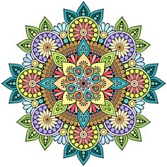 My Coloring Book Mandala Art, Mandala Drawing, Mandala Pattern, Mandala Design, Magic Design, New Media Art, Crocodile Stitch, Mandala Coloring Pages, Doodle Designs