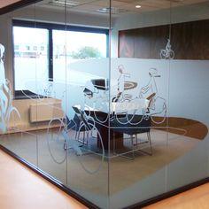 Rabobank Oost Betuwe - Design for walls of glass - by Studio Het Paradijs