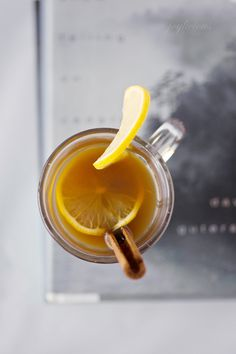 """The """"Intensitoddy"""", otherwise known as the best hot toddy ever.  Serves well as a natural remedy for a sore throat or sniffles, or as a zesty night cap!"""