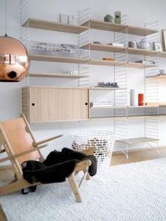 Composez son propre meuble avec les Sting System.