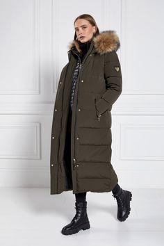 Colorado Down Coat (Khaki) – Holland Cooper