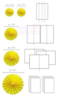 Resultado de imagen de mesa chuches abanicos y cintas papel crepe