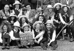 Behind the scenes of The Belles of St Trinian's (1954)