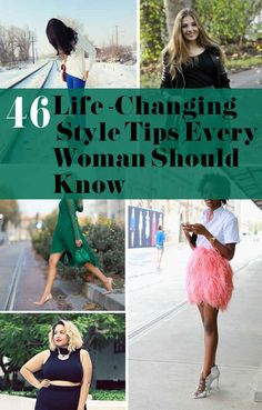 Making a dress into a skirt if the top is ruined is life-changing! 46 Life-Changing Style Tips Every Woman Should Know