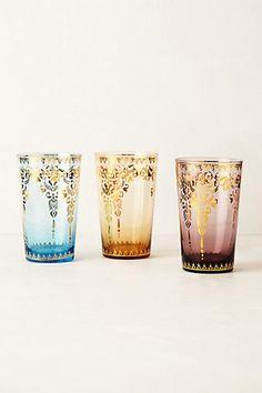 A roundup of perfect sweet tea glasses via Haskell Harris magpiebyhaskellharris.blogspot.com