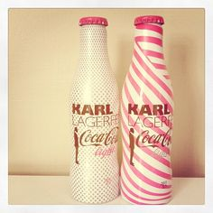 Designer Coke?!?  OMG! Not cuz I like Coca-Cola light, but these bottles are awesome!