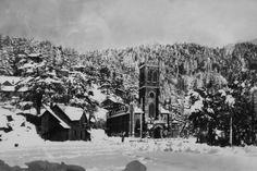 old church snow_shimla